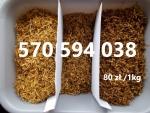 tytoń 80zl/ 1kg - jakość sklepowa - gratisy