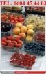 Włoskie opakowania na borówki, jagody lub inne owoce