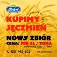 Kupię Jęczmień konsumpcyjny, 780pln/tona